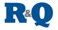 R and Q logo